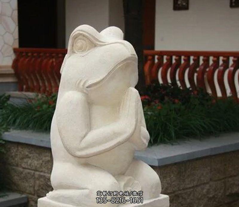 公园青蛙石雕-今日新石雕青蛙鲜事